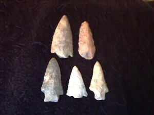 5 More Arrowheads